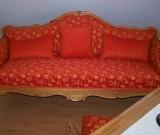 Sofa Landhausstil neu überzogen