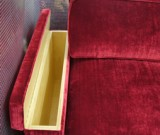 Neuanfertigung Sofa mit Stauraum in der Armlehne 2
