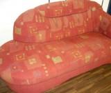 Sofa vorher bezogen mit Stoff