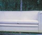 Weißes Sofa - Neuanfertigung